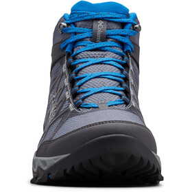 Columbia Peakfreak X2 Outdry Mid Shoes Men, graphite/blue jay